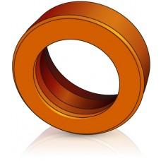 200 - 85 мм Бандажное ведущее колесо Jungheinrich 27601970 для штабелеров - Изображение