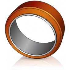 230 - 75 мм х 170 мм внутренний диаметр Ведущее колесо бандаж для вилочных погрузчиков, штабелеров - Изображение