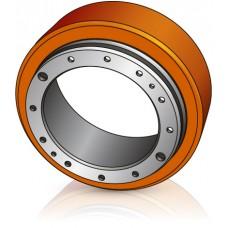 230 - 75 мм Бандажное колесо для штабелеров и электротележек Yale / Mitsubishi / Rocla - Изображение