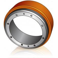 230 - 65/75 мм Бандаж Ведущее колесо для штабелеров и электротележек Mitsubishi - Изображение