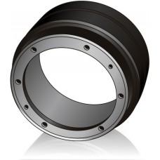 250 - 115 мм Ведущее колесо бандаж для вилочных погрузчиков, штабелеров - Изображение