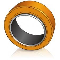 250 - 80 мм бандажное колесо Pimespo 20911 для вилочных погрузчиков OM Pimespo - Изображение