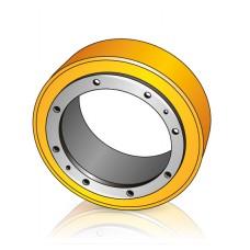 250 - 60 мм Бандажное Ведущее колесо BT 201801 для штабелеров и электротележек - Изображение