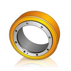 254 - 80 мм Бандаж - Ведущее колесо для тележек, штабелеров Still - Изображение