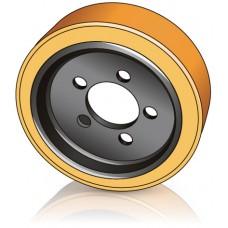310 - 105 мм Ведущее колесо 5 отверстий JUNGHEINRICH 63212830 для ричтраков, сборщиков заказов  - Изображение