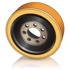 310 - 105/120 мм Ведущие колеса 7 отверстий BT Toyota 220400 для ричтраков и штабелеров - Изображение