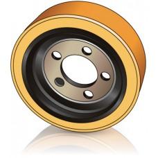 310 - 95/110 мм Ведущее колесо 5 отверстий BT 159667 для ричтраков и комплектовщиков заказов - Изображение