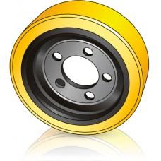 310 - 120 мм Ведущее колесо 5 отверстий BT 241752 для ричтраков - Изображение