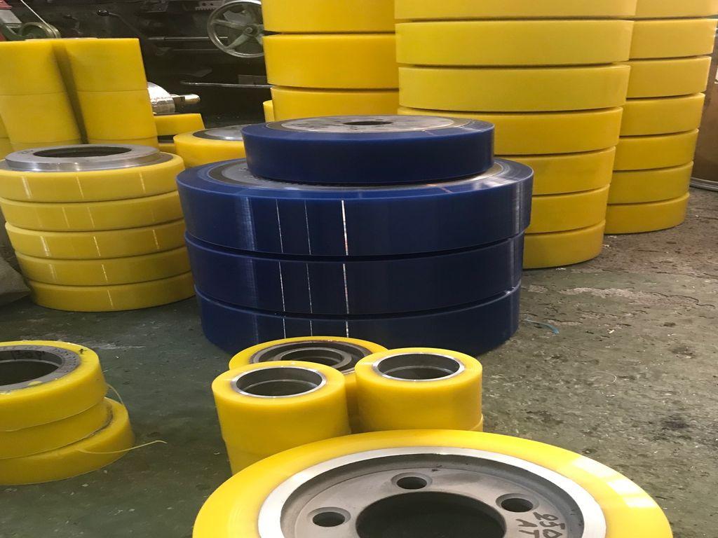 Изготовление и восстановление полиуретановых колес - Изображение 24