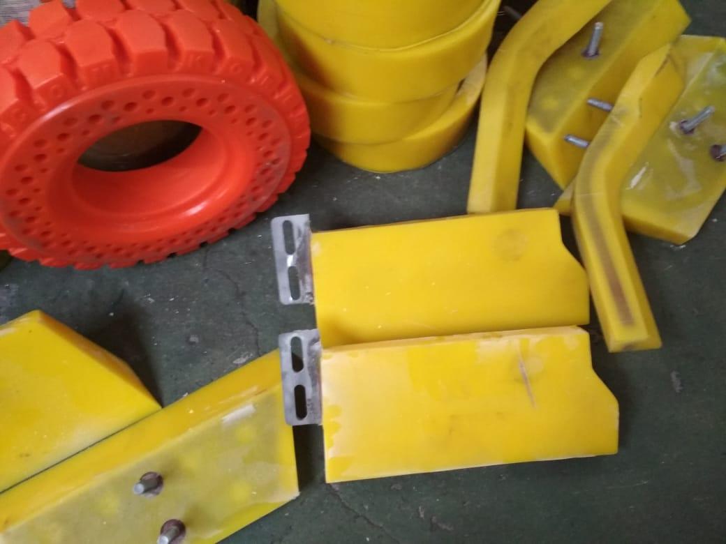 Лопасти (лопатки) бетоносмесителей - Видео 1