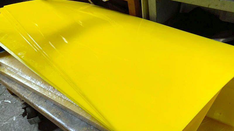 Производство полиуретановых листов - Видео 1