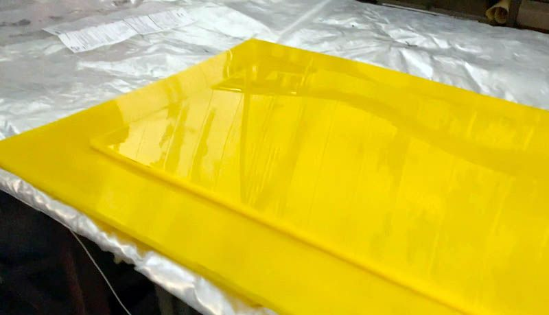 Производство полиуретановых листов - Изображение 16