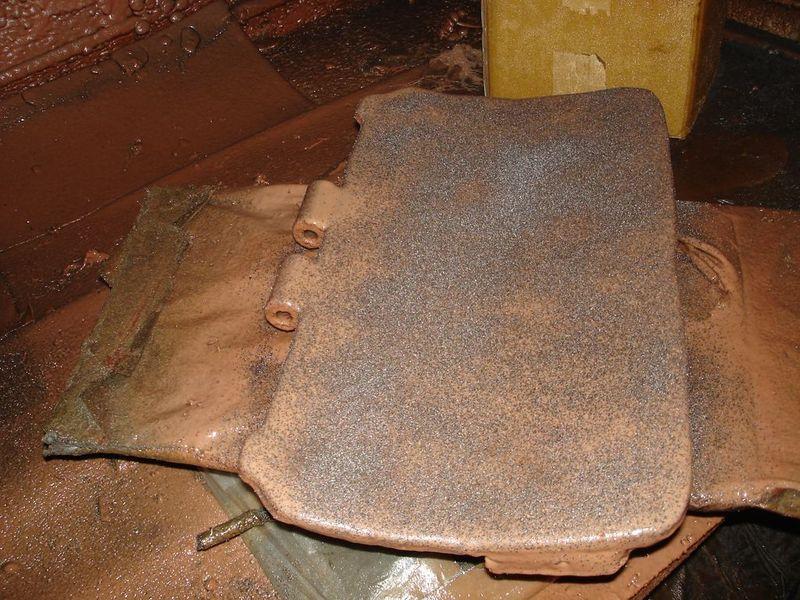 Покрытие металла полиуретаном - Видео 2