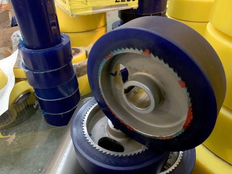 Изготовление и восстановление полиуретановых колес - Изображение 30