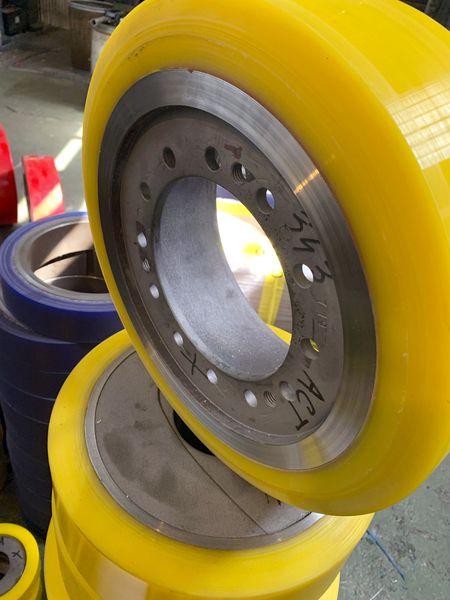 Изготовление и восстановление полиуретановых колес - Изображение 34
