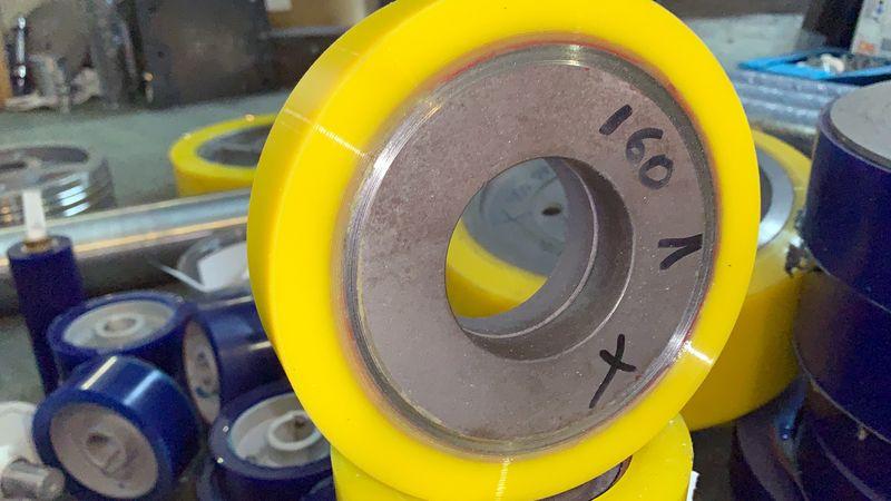 Изготовление и восстановление полиуретановых колес - Видео 1