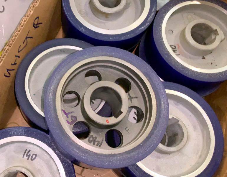 Конвейерные полиуретановые ролики - Изображение 0