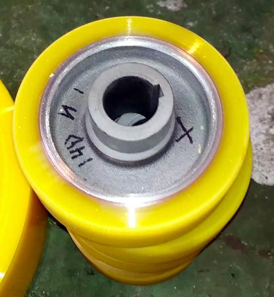 Обрезинивание роликов полиуретаном - Изображение 15