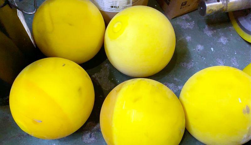 Полиуретановые шары - Видео 1