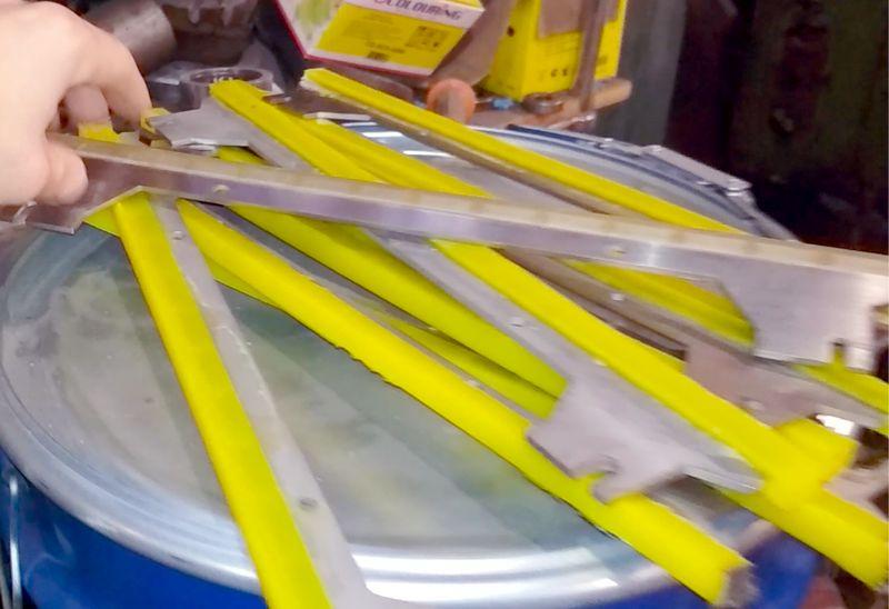 Полиуретановые скребки для конвейерных лент - Изображение 3