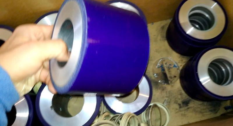 Обрезинивание роликов полиуретаном - Изображение 18