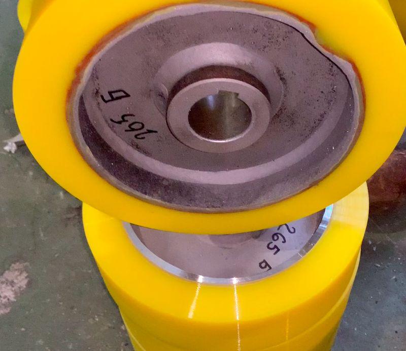 Восстановление колес полиуретаном - Изображение 3
