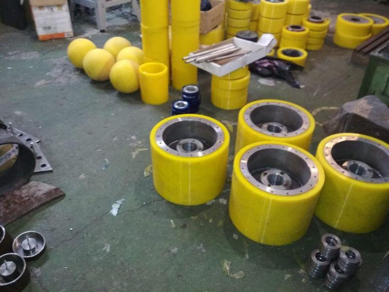 Восстановление колес полиуретаном - Изображение 13