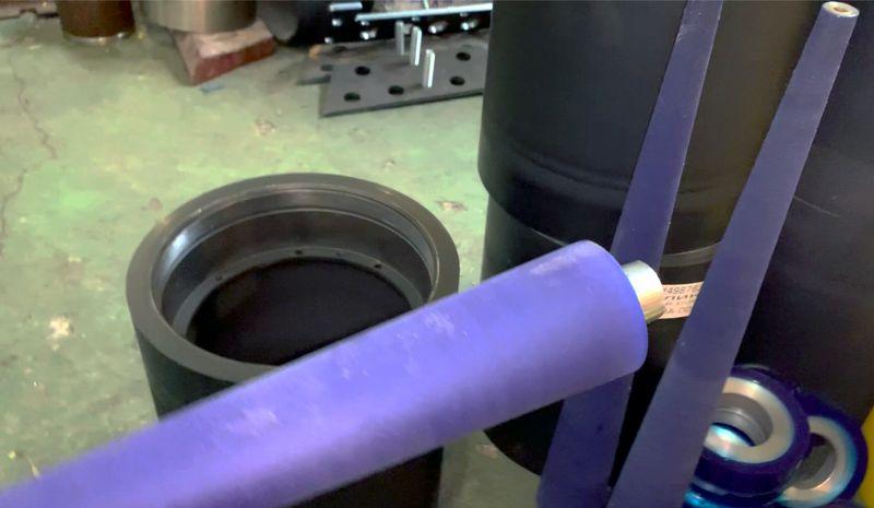 Обрезинивание валов полиуретаном - Изображение 16