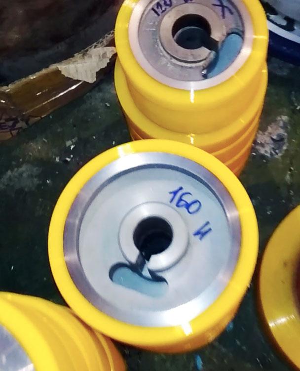 Восстановление роликов полиуретаном в СПб - Изображение 2
