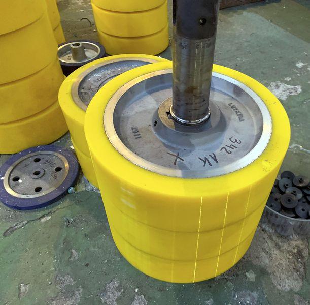 Восстановление колес полиуретаном - Изображение 9