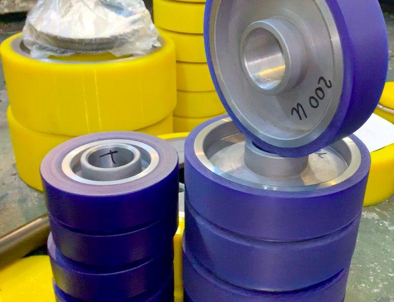 Восстановление колес полиуретаном - Изображение 11