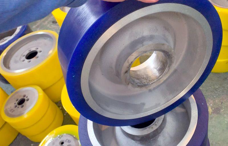 Восстановление колес полиуретаном - Изображение 6