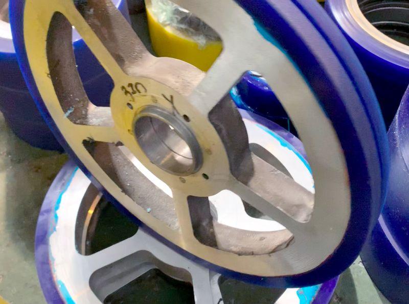 Восстановление колес полиуретаном - Изображение 5